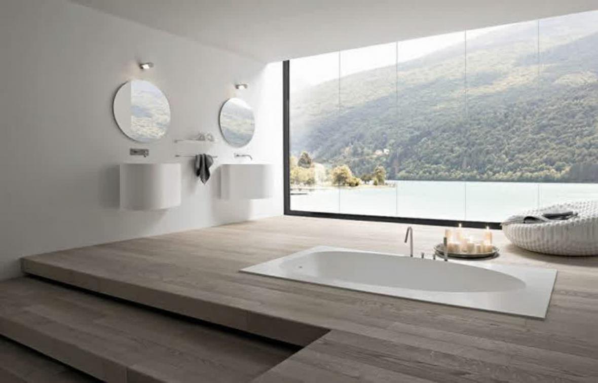 Bath Tubs   Energy efficient prefabricated wooden houses